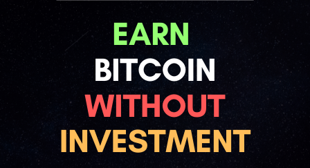Earn Free Bitcoins without Investment